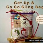 Get up and go go sling bag ..